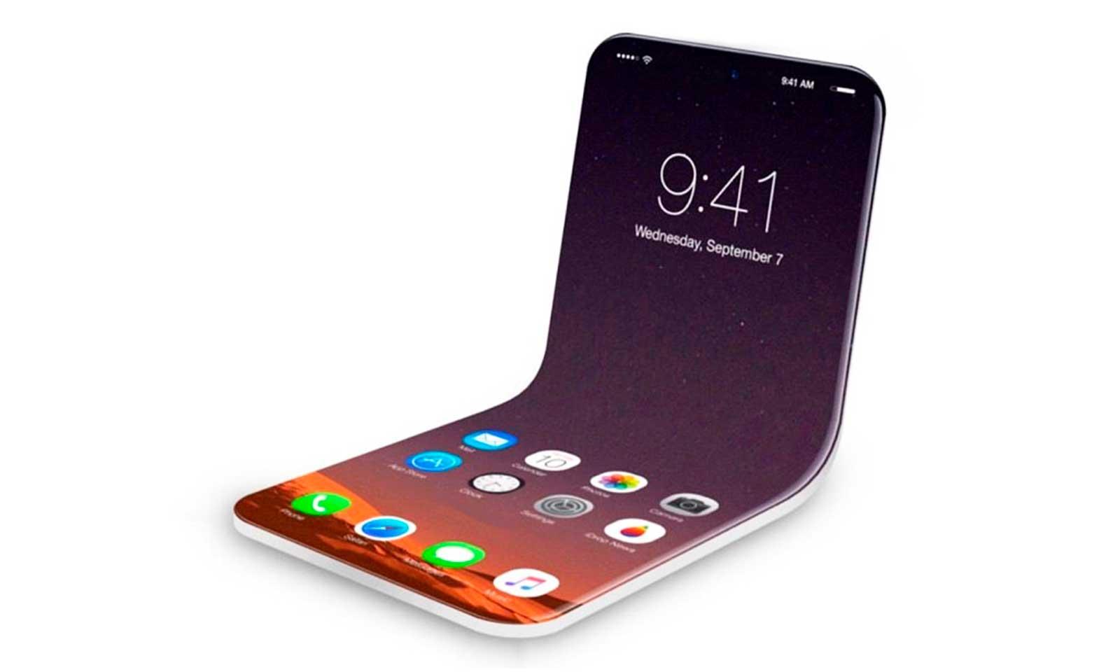Spéculation sur un iPhone pliable